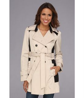 Jessica Simpson Color Blocked Trench Coat JOFMC617