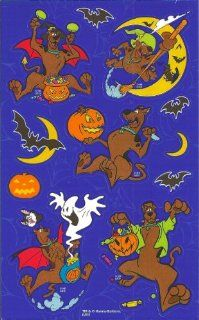 Scooby Doo Halloween Scrapbook Stickers (PSDOAR4)