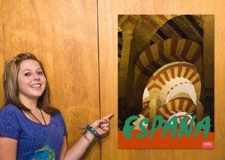 Cordoba Arches Spain Travel Poster   Prints