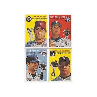 2003 Topps Heritage Baseball Complete Mint Basic 350 Card Set Including Albert Pujols, Mike Piazza, Alex Rodriguez, Roger Clemens, Derek Jeter, Greg Maddux, Sammy Sosa and Others! at 's Sports Collectibles Store