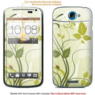 "Protective Decal Skin Sticker for T Mobile HTC ONE S "" T Mobile version"" case cover TM_OneS 345: Electronics"