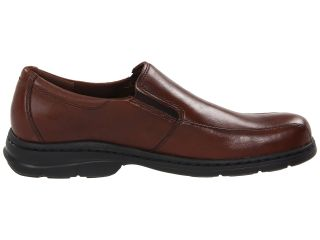 Dunham Blair Twin Gore Slip On Brown Smooth