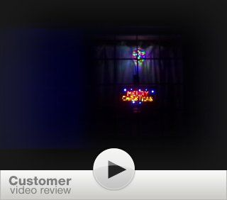LED Neon Lighted Merry Christmas Sign  Business And Store Signs