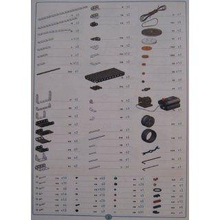Erector Super Construction Set   25 Models   640+ Parts: Toys & Games