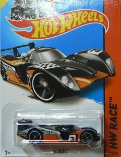 Hot Wheels 2014 Hw Racing Track Aces Black 24 Ours 164/250 Toys & Games