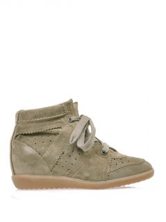 Bobby suede wedge trainers  Isabel Marant