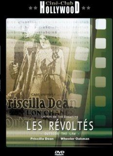 """Les Revoltes (Outside the Law) (1920) + Documentary """"Tod Browning & Lon Chaney"""" (Non Us Format) (Region 2) (Import) Movies & TV"""