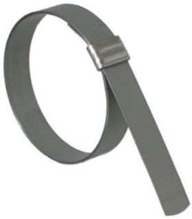 "BAND IT JS4029 Junior 3/8"" Wide x 0.025"" Thick, 1 3/8"" Diameter, 316 Stainless Steel Smooth I.D. Clamp (100 Per Box): Industrial & Scientific"