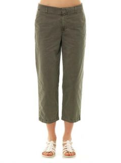 Parker wide leg cropped trousers  J Brand
