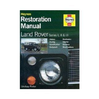 Land Rover Series I, II and III Restoration Manual: Toys & Games