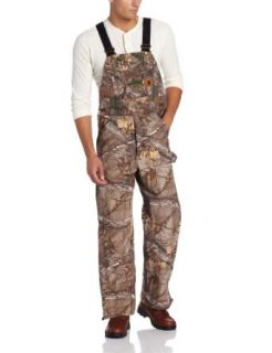 Carhartt Men's Work Camo Bib Overall: Overalls And Coveralls Workwear Apparel: Clothing