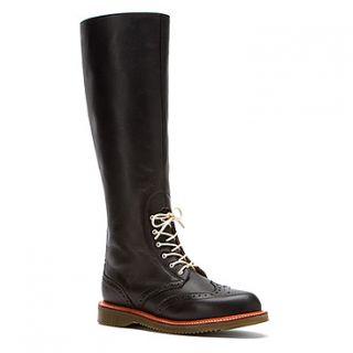 Dr Martens Moya Tall Brogue Boot  Women's   Black