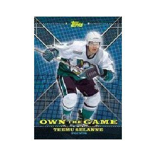 2000 01 Topps/OPC Own the Game #OTG5 Teemu Selanne at 's Sports Collectibles Store