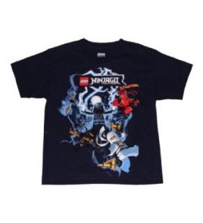 Lego Ninjago Lord Garmadon Vs 4 Ninjas Boys T shirt Clothing