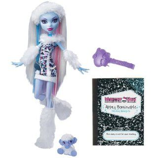 Monster High Abbey Bominable Doll Daughter of the Yeti: Toys & Games