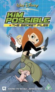 Kim Possible: The Secret Files [VHS]: Christy Carlson Romano, Will Friedle, Nancy Cartwright, Tahj Mowry, Mayim Bialik, Dan Castellaneta, John DiMaggio, Brian George, Kerri Kenney, Melissa McCarthy, Breckin Meyer, Raven Symon�, Chris Bailey, Steve Loter, J