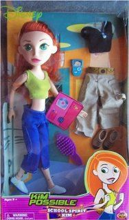 Kim Possible School Spirit Doll & 2 Outfits: Toys & Games