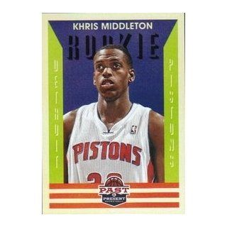 2012 13 Panini Past and Present #178 Khris Middleton RC at 's Sports Collectibles Store