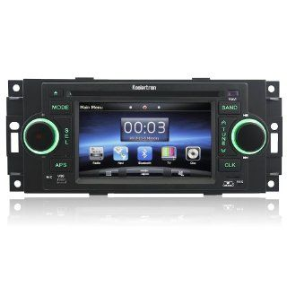 Koolertron (TM) for 2002 07 Jeep Commander/Compass Limited/Grand Cherokee/Patriot DVD Player with in dash Navigation System : Vehicle Dvd Players : Car Electronics