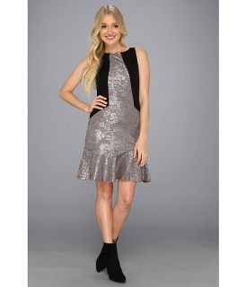 Hale Bob Gisela Sleeveless Dress Silver