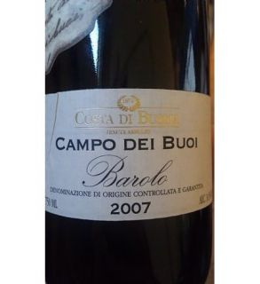 2007 Costa di Bussia Campo del Boi Single Vineyard Barolo 750ml: Wine