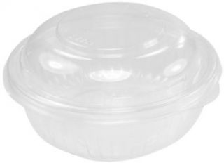 Presentabowls C16BCD 16 oz Clear Bowl with Dome Lid (Case of 252): Industrial & Scientific