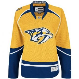 NHL Women's Nashville Predators Reebok Premier Team Jersey   7214W5Pcwrnpr (Yellow, XX Large) : Sports Fan Jerseys : Clothing