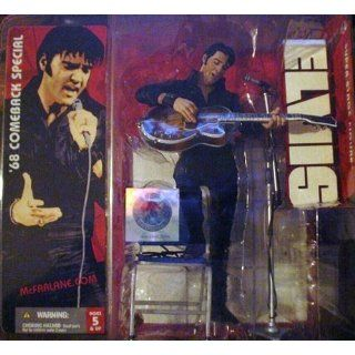 ** Possible Opener **Elvis Presley '68 Comeback Special He Dared To Rock Action Figure McFarlane ** Possible Opener ** Toys & Games