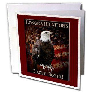 gc_20809_1 Beverly Turner Eagle Scout Design and Photography   Proud Eagle Congratulations Eagle Scout   Greeting Cards 6 Greeting Cards with envelopes : Blank Greeting Cards : Office Products