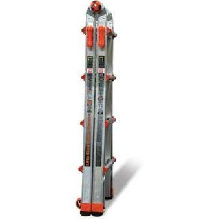 Little Giant Ladder Systems 15422 001 Velocity 300 Pound Duty Rating Multi Use Ladder, 22 Foot   Telescoping Ladders