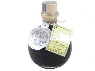 Fattoria Estense Silver Label, Round Bottle (Previously labeled as Aceto Balsamico di Modena, Aged 10 years) : Balsamic Vinegars : Grocery & Gourmet Food
