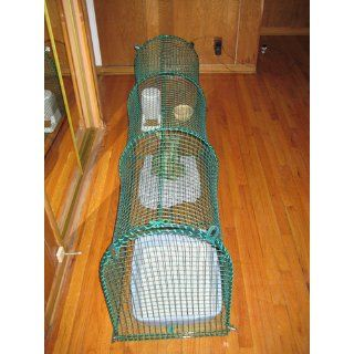 Kittywalk Outdoor Net Cat Enclosure for Decks, Patios, Balconies : Pet Balcony Nets : Pet Supplies