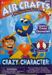 Air Crafts   The Foam that Flies   Crazy Character: Toys & Games