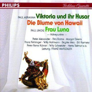 Goldene Operette   Viktoria und ihr Husar   Die Blume von Hawaii   Frau Luna Music