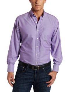 Nautica Men's Vintage Oxford Button Down Dress Shirt, Sea Grass, 17H4 5 at  Men�s Clothing store: