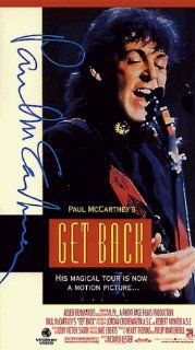 Paul McCartney's Get Back: The World Tour Movie [VHS]: Paul McCartney, Linda McCartney, Robbie McIntosh, Hamish Stuart, Chris Whitten, Paul Wickens, Jordan Cronenweth, Robert Paynter, Richard Lester, John Victor Smith, Steve Purcell, Henry Thomas, Phil