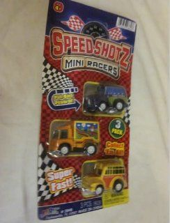 Ja ru Speed Shotz Mini Racers Pull Back Powered Super Fast, Ambulance, Fire Truck, Car Play Fast San Ran Hang: Toys & Games