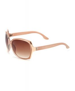 Nude Square Sunglasses
