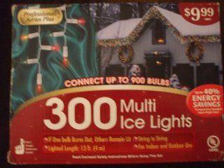 300 Multi Ice Lights   String Lights