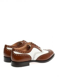 Burwood bi colour leather brogues  Church's