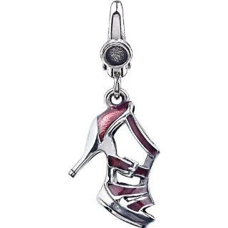 Sterling Silver High Heel Charm: Jewelry