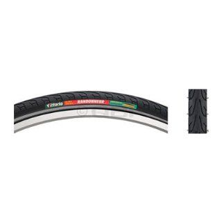 Vittoria Randonneur Cross/Hybrid Bicycle Tire   Wire Bead   Black/Reflective : Bike Tires : Sports & Outdoors