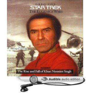 Star Trek: The Eugenics Wars: The Rise and Fall of Khan Noonien Singh (Adapted) (Audible Audio Edition): Greg Cox, Anthony Stewart Head: Books