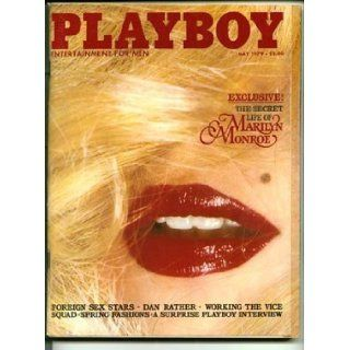 Playboy Magazine / May 1979   Dan Rather, Marilyn Monroe, Wendy / Walter Carlos: Playboy Magazine: Books