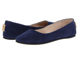 French Sole Sloop Navy Suede