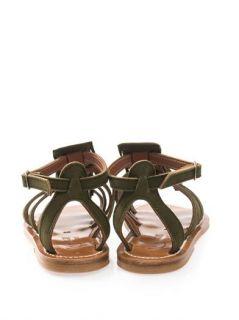 Fregate fringed suede sandals  K. Jacques