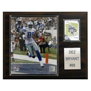 """Dallas Cowboys Dez Bryant 12""""x15"""" Player Plaque  Sports Fan Decorative Plaques  Sports & Outdoors"""