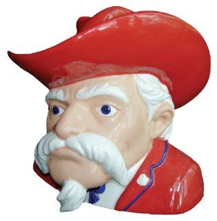 Mississippi Ole Miss Rebels Mascot Bust Coin Bank : Sports Related Collectibles : Sports & Outdoors