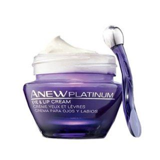 Avon Anew Platinum Eye & Lip Cream Wrinkles Crows Feet: Beauty