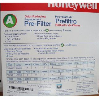 Honeywell Universal Carbon Air Purifier Replacement Pre Filter, HRF AP1 / Filter (A)   Carbon Prefilter Air Purifiers